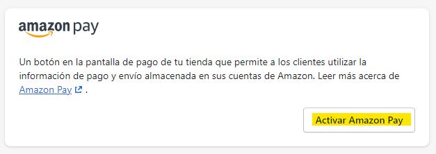Pagos por Amazon Pay
