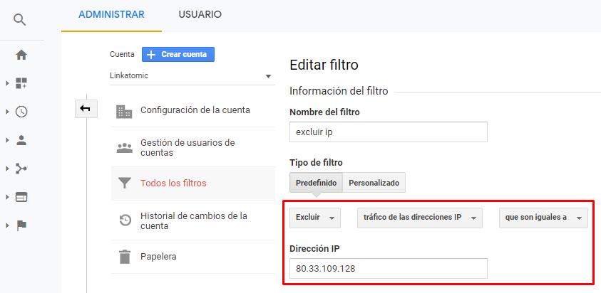 Cómo ignorar mis visitas en Google Analytics con filtros por IP