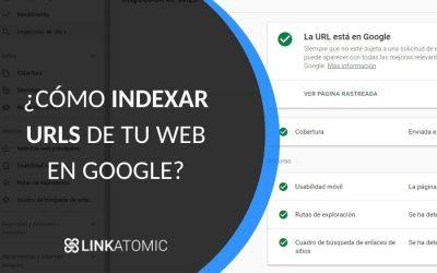 Indexar web en Google