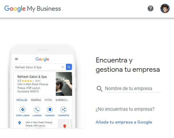 Aparecer en Google My Business