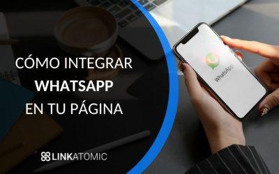 cómo integrar whatsapp en una pagina web