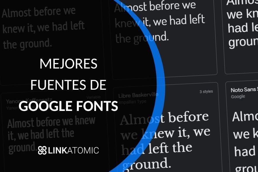 Las mejores Google Fonts